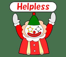Loose clown sticker #5395618
