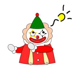 Loose clown sticker #5395620