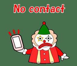 Loose clown sticker #5395621
