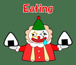 Loose clown sticker #5395622