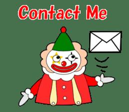 Loose clown sticker #5395623