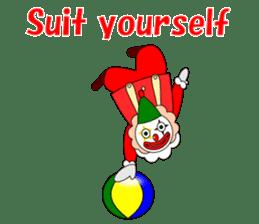 Loose clown sticker #5395624