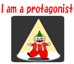 Loose clown sticker #5395626
