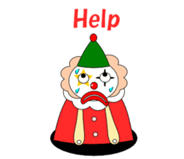 Loose clown sticker #5395627