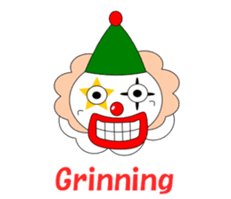 Loose clown sticker #5395628