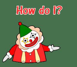 Loose clown sticker #5395630