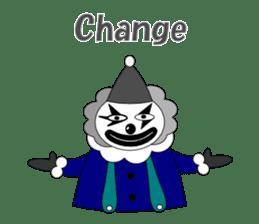Loose clown sticker #5395632