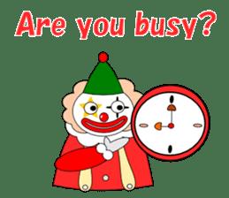 Loose clown sticker #5395633