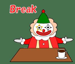 Loose clown sticker #5395634