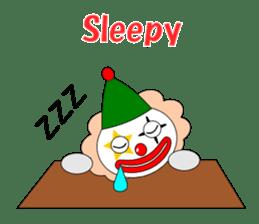 Loose clown sticker #5395635