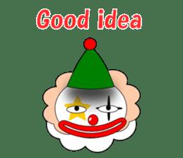 Loose clown sticker #5395637