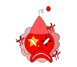 Loose clown sticker #5395639