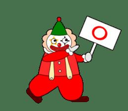 Loose clown sticker #5395641