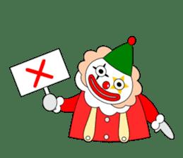 Loose clown sticker #5395642