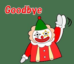 Loose clown sticker #5395643