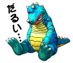 Jumbo Monster GOMERA sticker #5398070