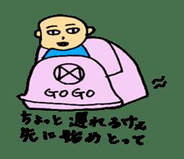 Hiroshima-ben Ver. 2 sticker #5399654