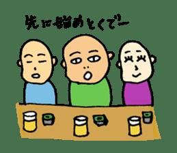 Hiroshima-ben Ver. 2 sticker #5399655