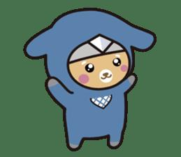 Ninja Wanko sticker #5401967