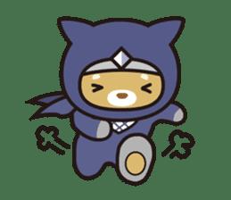Ninja Wanko sticker #5401971