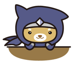 Ninja Wanko sticker #5401973