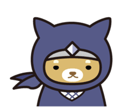 Ninja Wanko sticker #5401976