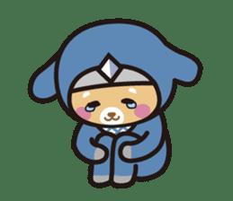 Ninja Wanko sticker #5401977