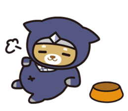 Ninja Wanko sticker #5401978