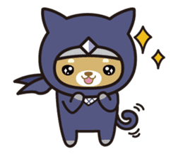 Ninja Wanko sticker #5401981