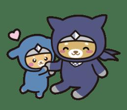 Ninja Wanko sticker #5401983
