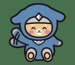 Ninja Wanko sticker #5401984