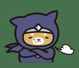 Ninja Wanko sticker #5401985