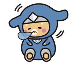Ninja Wanko sticker #5401987