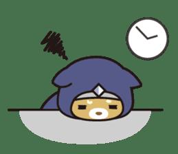 Ninja Wanko sticker #5401988