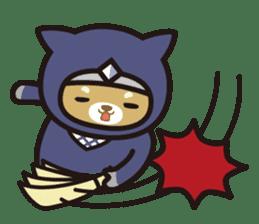 Ninja Wanko sticker #5401992