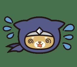 Ninja Wanko sticker #5401997