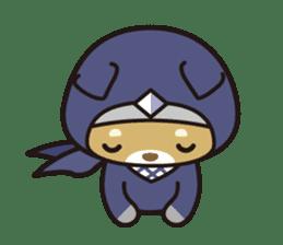 Ninja Wanko sticker #5401998