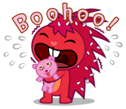 Happy Tree Friends: Pretty style sticker #5407692