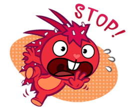 Happy Tree Friends: Pretty style sticker #5407693