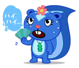 Happy Tree Friends: Pretty style sticker #5407697