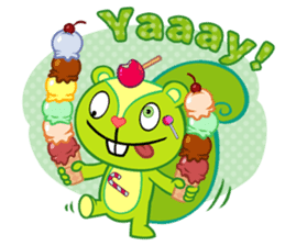 Happy Tree Friends: Pretty style sticker #5407699