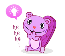 Happy Tree Friends: Pretty style sticker #5407701