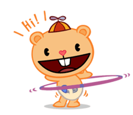 Happy Tree Friends: Pretty style sticker #5407718