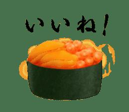 Sticker of the Japanese food sticker #5413182