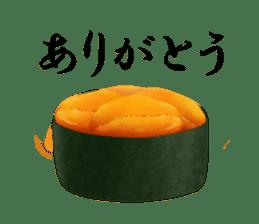 Sticker of the Japanese food sticker #5413183