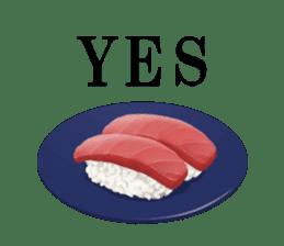 Sticker of the Japanese food sticker #5413188