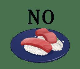 Sticker of the Japanese food sticker #5413189