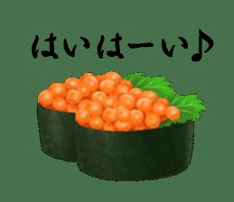 Sticker of the Japanese food sticker #5413199