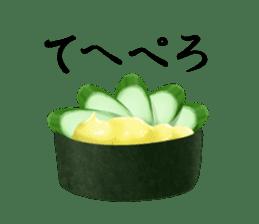 Sticker of the Japanese food sticker #5413205