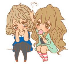 Girls 2 Daily Life sticker #5415671